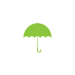 Umbrella flat vector icon
