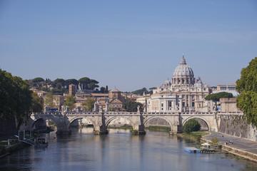 Foto op Canvas Rome Rome Streets Architecture