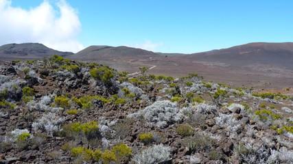 Plaine des Sables sur l'Ile de la Réunion