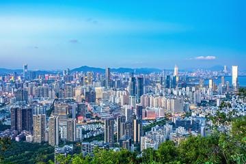 Shenzhen Bay Houhai Skyline