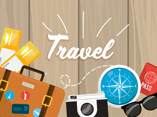 travel briefcase to recreation and explore advebture