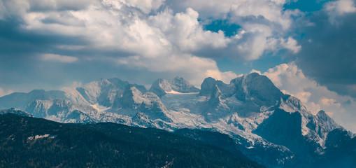 Beautiful alpine view at Russbach-Salzburg-Austria