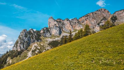 Beautiful alpine view at the Achensee - Maurach - Tyrol - Austria