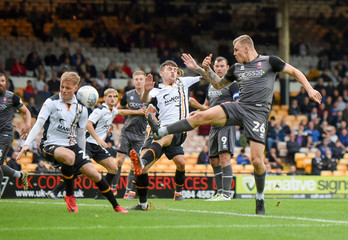 League Two - Port Vale v Lincoln City