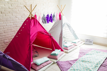 Teepee Tents For Pajama Party At Home