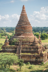 Bulethi pagoda is one of the most famous pagoda of Bagan