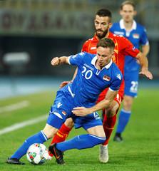 UEFA Nations League - League D - Group 4 - FYR Macedonia v Liechtenstein