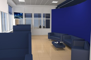 interior, exhibition hall, pavilion