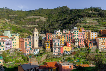 Manarola, colorful village of Cinque Terre, Italy