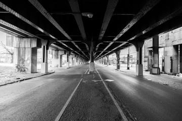 Overhead railway in NW Philadelphia