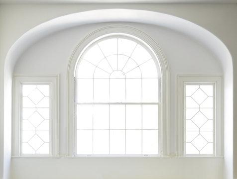 White Windows in a White Room