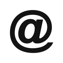 E-mail line icon - stock vector