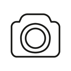 Photo camera icons symbol - vector for stock