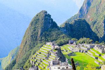 Wall Murals South America Country MACHU PICCHU MARAVILLA INCA ANDES CUSCO PERU