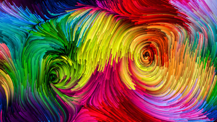 Visualization of Colorful Paint