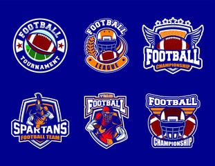 Football set logo