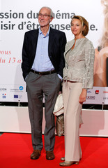 Piano and his wife attend the opening of the Lumiere 2018 Grand Lyon Film Festival in Lyon