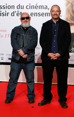Directors Marc Caro and Jean Pierre Jeunet attend the opening of the Lumiere 2018 Grand Lyon Film Festival, in Lyon