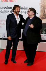 Bardem and director Del Toro attend the opening of the Lumiere 2018 Grand Lyon Film Festival in Lyon