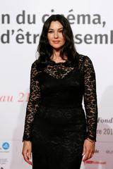 Actress Monica Bellucci attends the opening of the Lumiere 2018 Grand Lyon Film Festival, in Lyon