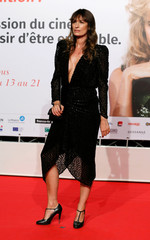 Actress Audrey Dana attends the opening of the Lumiere 2018 Grand Lyon Film Festival, in Lyon