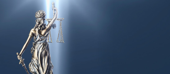 Fototapeta Lady Justice Statue