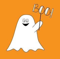 Happy Halloween Ghost