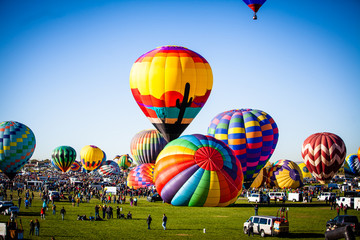 Canvas Prints Balloon NM Hot Air Balloon Fiesta
