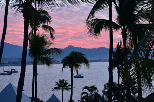 Sunrise in Manzanillo, Mexico