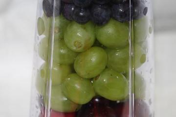Grape, Cherry and Blender