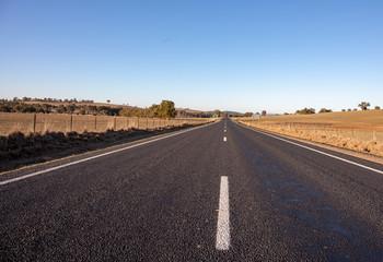Open road in Australian outback