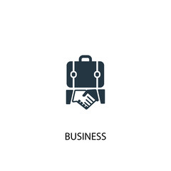 Business icon. Simple element illustration. Business concept symbol design. Can be used for web and mobile.