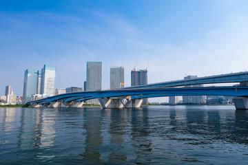東京 豊洲 晴海大橋
