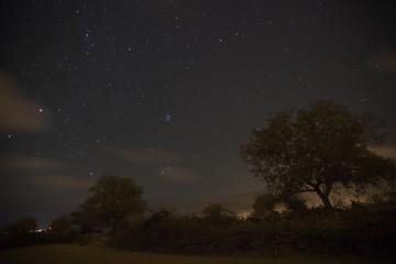 Nuit sur le Poujoulet