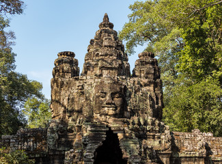 Kambodscha - Siegestor von Angkor Thom