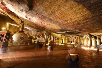 Die Höhlentempel von Dambulla in Sri Lanka