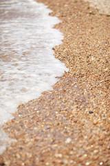 바닷가의 자갈