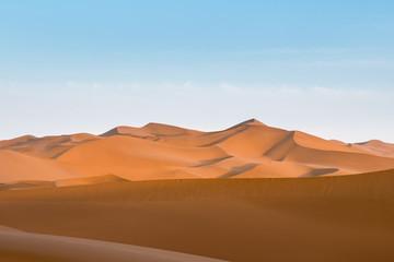desert dusk landscape