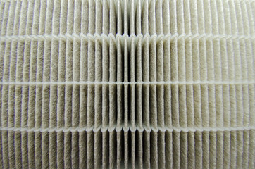 Surface closeup hepa filter air cleaner filtration is an important and popular form of air purification technology