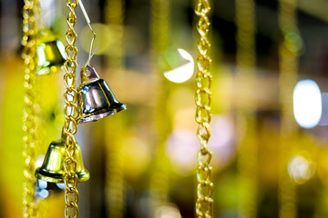 Bell, silver bells for background