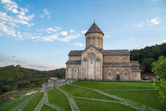 Saint Nino Bodbe Monastery is a Georgian Orthodox monastic complex of Bodbe near Sighnaghi, Georgia