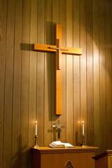 cross in the church