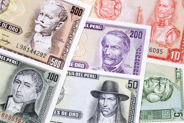 Peruvian Money, a business background