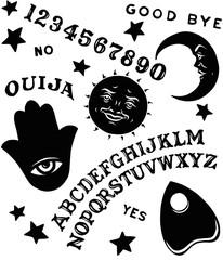 Ouija Board Symbols