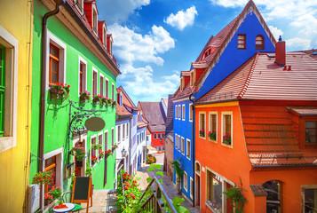 Street of Meissen Fototapete