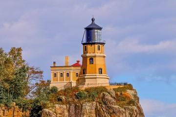 Split Rock Lighthouse in Northern Minnesota, landmark, travel, architecture, destination