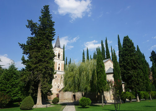 Bodbe Monastery Church Scenery