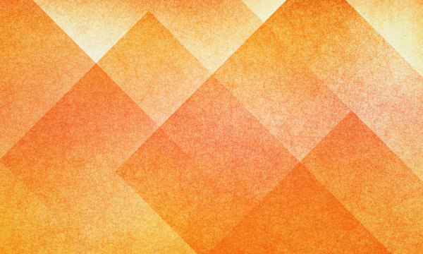 orange abstract background with autumn colors of red and yellow textured design for thanksgiving halloween and fall, geometric block pattern