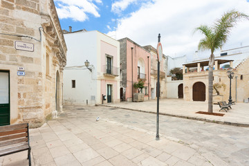 Specchia, Apulia - Traditional living in the old town of Specchia