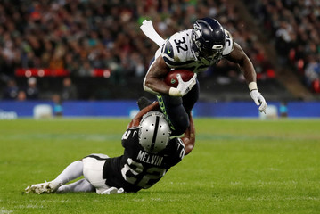 Seattle Seahawks v Oakland Raiders - NFL International Series